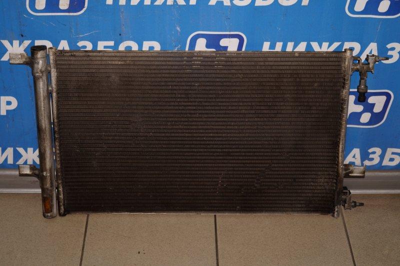 Радиатор кондиционера (конденсер) Opel Astra J СЕДАН 1.4T (A14NET) 19DV2533 2013 (б/у)