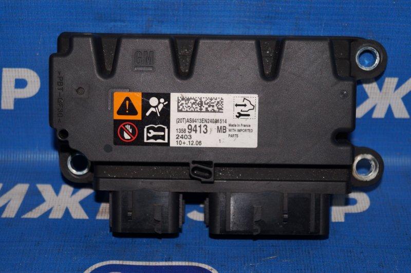 Блок управления air bag Opel Astra J СЕДАН 1.4T (A14NET) 19DV2533 2013 (б/у)