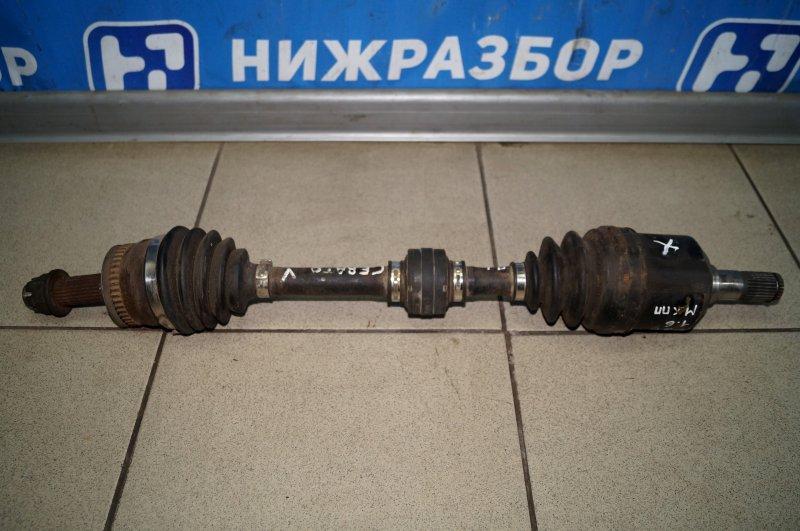 Привод Kia Cerato 1 1.6 2004 передний левый (б/у)