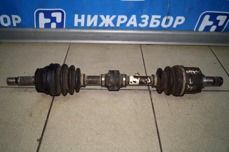Привод Hyundai Matrix 1.5 TDI передний левый (б/у)