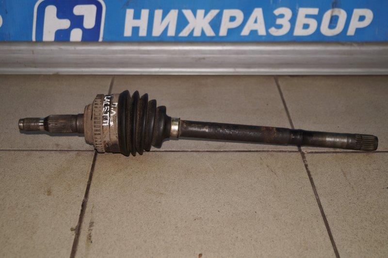 Привод Chevrolet Lacetti 1.6 передний левый (б/у)
