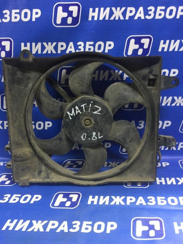Вентилятор радиатора Daewoo Matiz M100/M150 0.8 1998 (б/у)