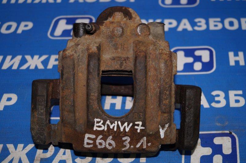 Суппорт Bmw 7-Серия E65/E66 4.8 N62B48 задний левый (б/у)