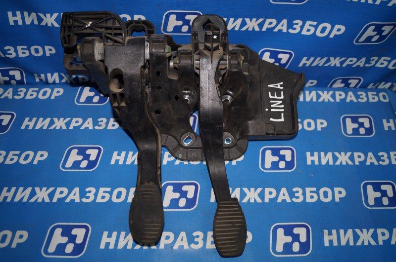 Блок педалей Fiat Linea 1.4T 198A4000 2010 (б/у)