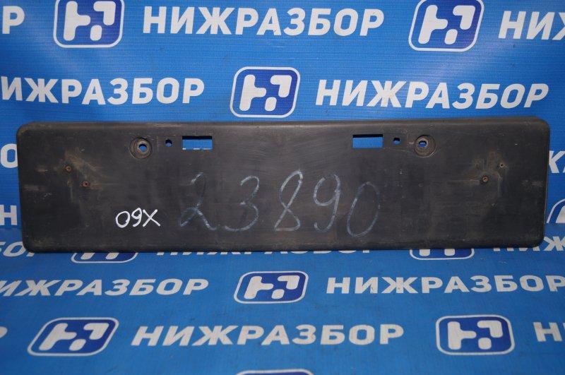 Накладка бампера под номер Lifan X60 1.8 (LFB479Q) 140107303 2014 передняя (б/у)
