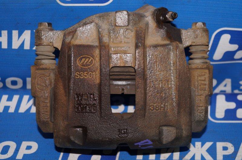 Суппорт Lifan X60 1.8 (LFB479Q) 140107303 2014 передний левый (б/у)