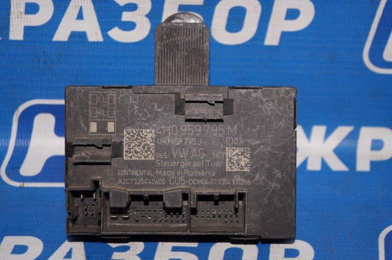 Блок комфорта Volkswagen Touareg NF 2010 (б/у)