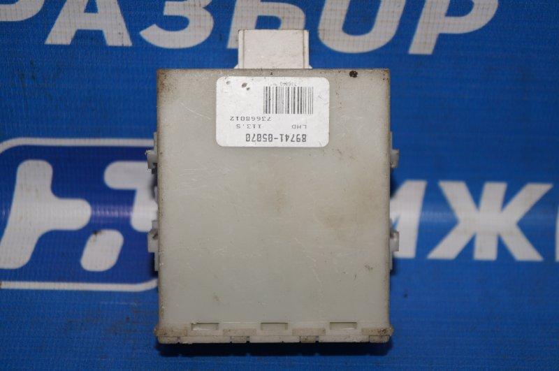 Блок управления центральным замком Toyota Avensis 2 2003 (б/у)