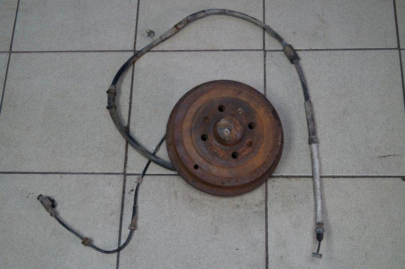 Барабан тормозной Opel Corsa D задний левый (б/у)