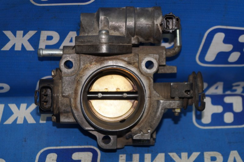 Заслонка дроссельная Mazda 3 BK 2002 (б/у)