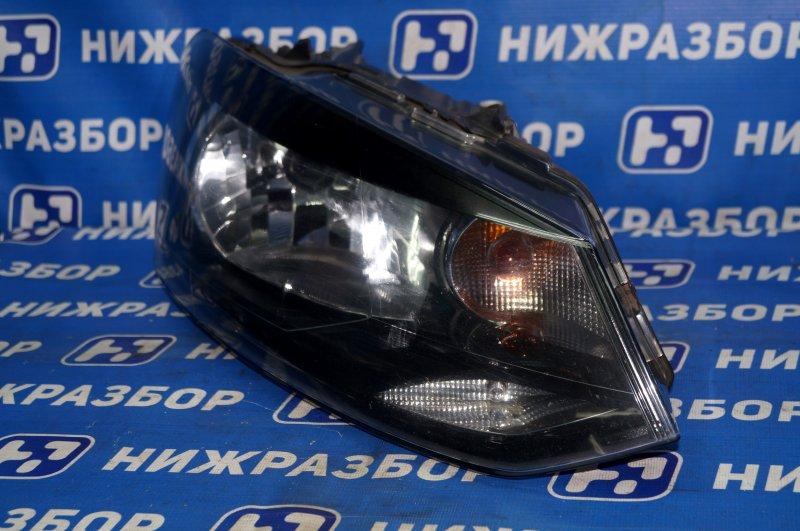 Фара Volkswagen Polo Sedan 2011> правая (б/у)