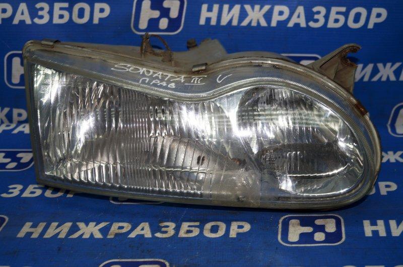 Фара Hyundai Sonata 3 Y3 2.0 4GCP правая (б/у)