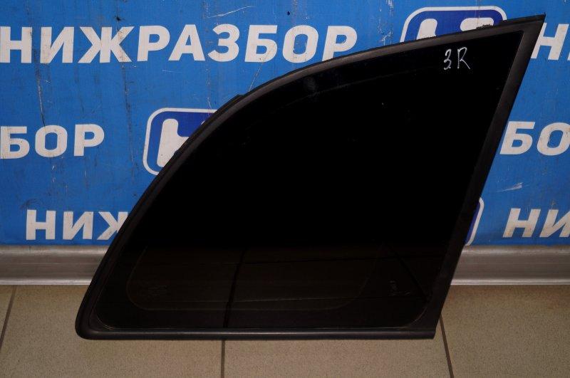 Стекло кузовное глухое Vortex Tingo T11 1.8 (SQR481FC) FFBC01442 2011 заднее правое (б/у)