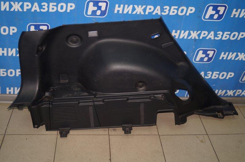 Обшивка багажника Kia Sportage 3 2.0 (G4KD) 2013 задняя левая (б/у)
