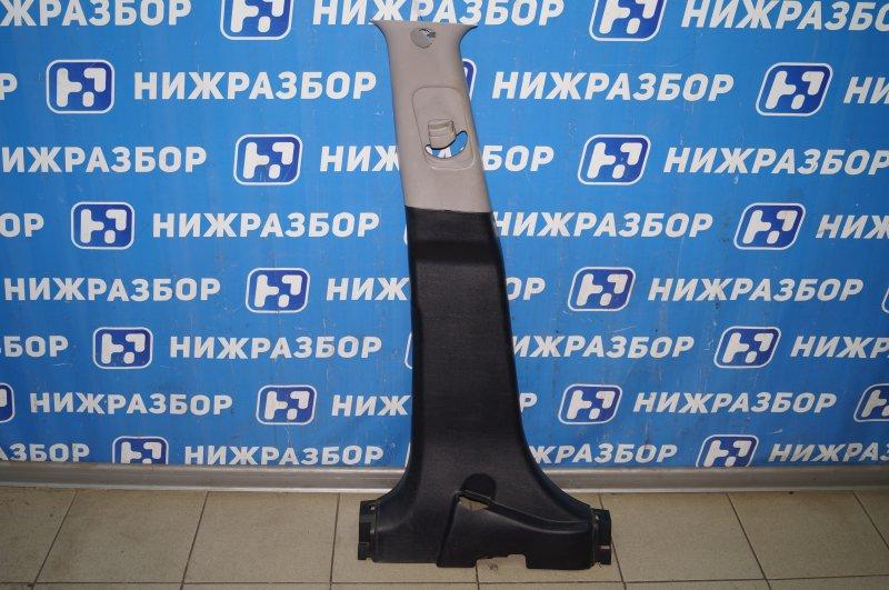 Обшивка стойки Kia Sportage 3 2.0 (G4KD) 2013 левая (б/у)