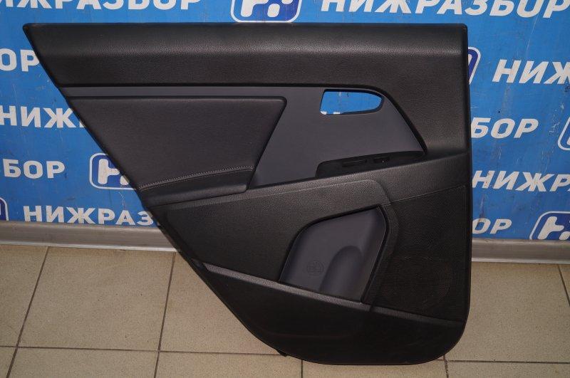 Обшивка двери Kia Sportage 3 2.0 (G4KD) 2013 задняя левая (б/у)