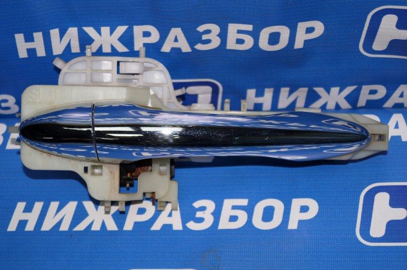 Ручка двери наружная Kia Sportage 3 2.0 (G4KD) 2013 передняя правая (б/у)