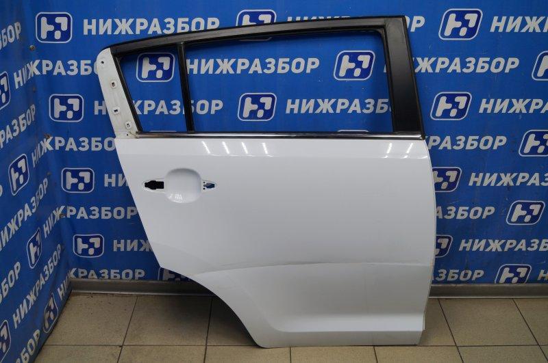 Дверь Kia Sportage 3 2.0 (G4KD) 2013 задняя правая (б/у)