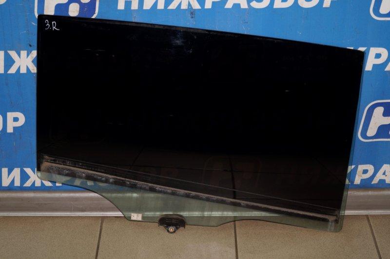 Стекло двери Kia Sportage 3 2.0 (G4KD) 2013 заднее правое (б/у)