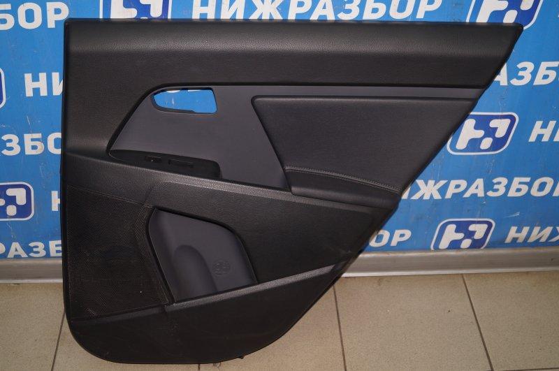Обшивка двери Kia Sportage 3 2.0 (G4KD) 2013 задняя правая (б/у)