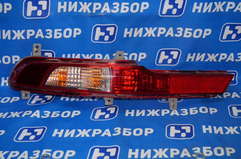 Фонарь в бампер Kia Sportage 3 2.0 (G4KD) 2013 задний левый (б/у)