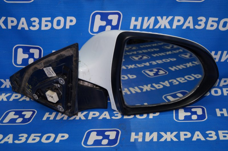 Зеркало электрическое Kia Sportage 3 2.0 (G4KD) 2013 правое (б/у)