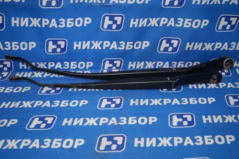 Поводок стеклоочистителя к-кт Kia Sportage 3 2.0 (G4KD) 2013 передний (б/у)