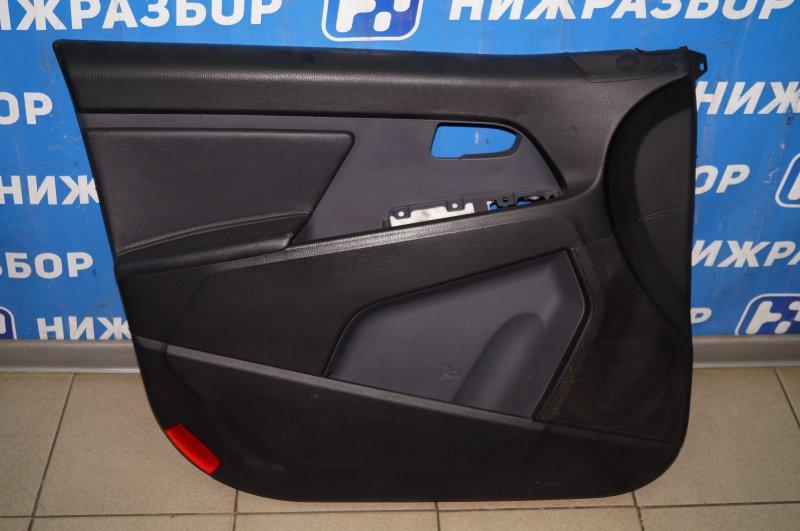 Обшивка двери Kia Sportage 3 2.0 (G4KD) 2013 передняя левая (б/у)