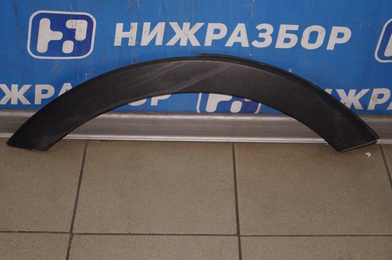 Накладка крыла Kia Sportage 3 2.0 (G4KD) 2013 задняя правая (б/у)