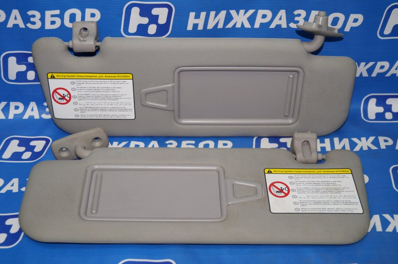Козырек солнцезащитный Kia Sportage 3 2.0 (G4KD) 2013 (б/у)