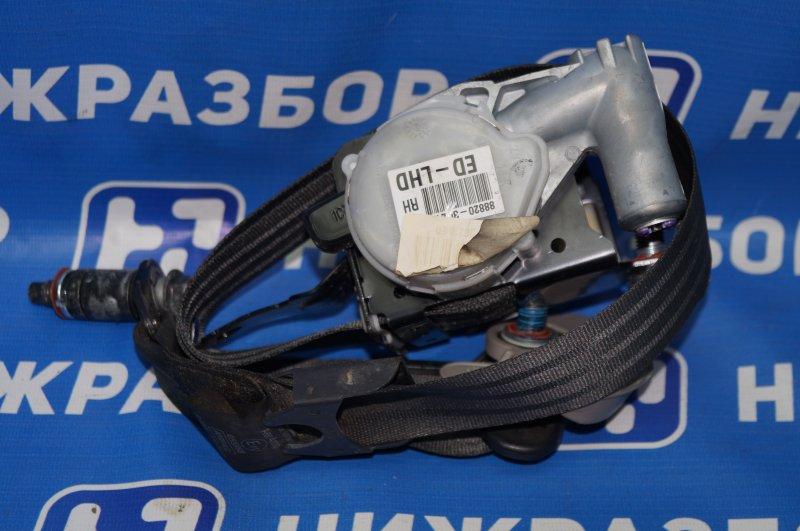Ремень безопасности с пиропатроном Kia Sportage 3 2.0 (G4KD) 2013 передний правый (б/у)