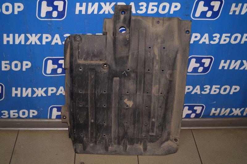Защита антигравийная Kia Sportage 3 2.0 (G4KD) 2013 левая (б/у)