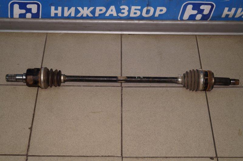 Привод Kia Sportage 3 2.0 (G4KD) 2013 задний правый (б/у)