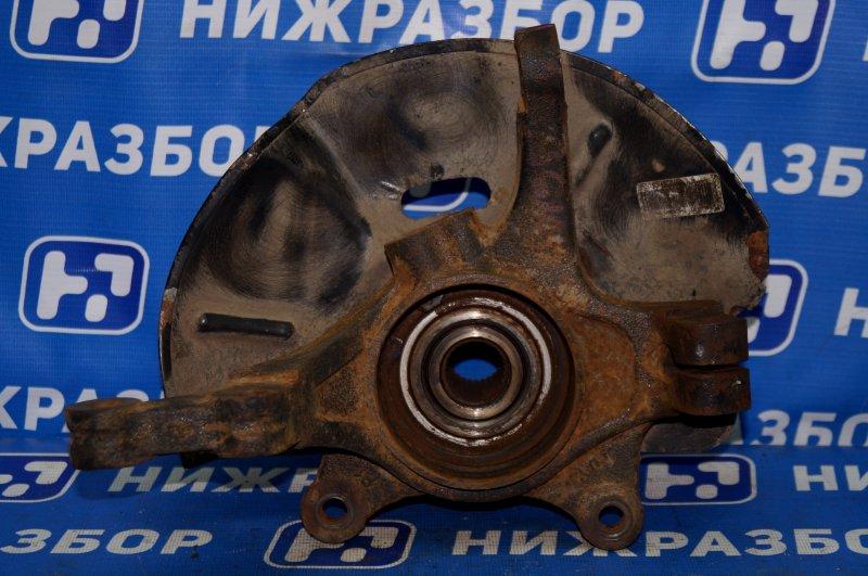Кулак поворотный Kia Sportage 3 2.0 (G4KD) 2013 передний правый (б/у)