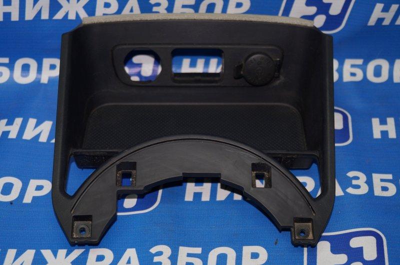 Консоль Kia Sportage 3 2.0 (G4KD) 2013 нижний (б/у)