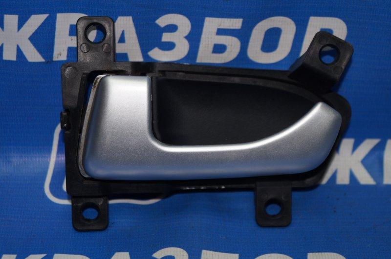 Ручка двери внутренняя Kia Sportage 3 2.0 (G4KD) 2013 задняя левая (б/у)