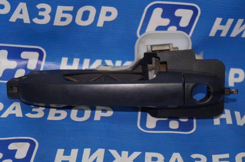 Ручка двери наружная Kia Ceed ED 1.6 (G4FC) 2008 передняя левая (б/у)