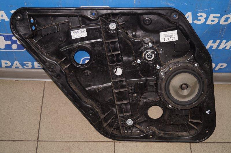 Стеклоподъемник эл. Hyundai Elantra MD 2011 задний левый (б/у)