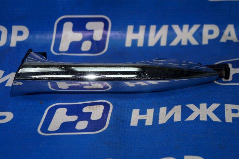 Ручка двери наружная Hyundai Elantra MD 2011 задняя левая (б/у)