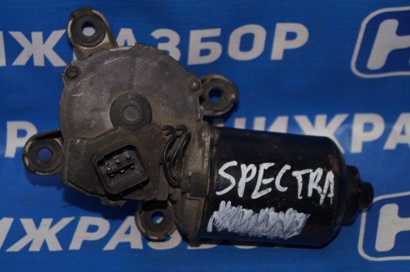 Моторчик стеклоочистителя Kia Spectra передний (б/у)