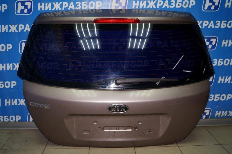 Дверь багажника Kia Ceed ED 1.6 (G4FC) 2008 (б/у)