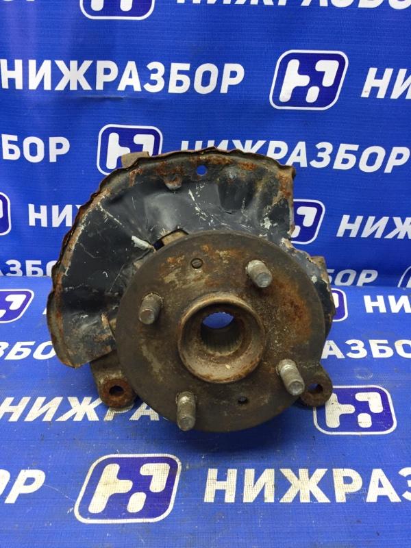 Кулак поворотный Kia Spectra 2001 передний правый (б/у)