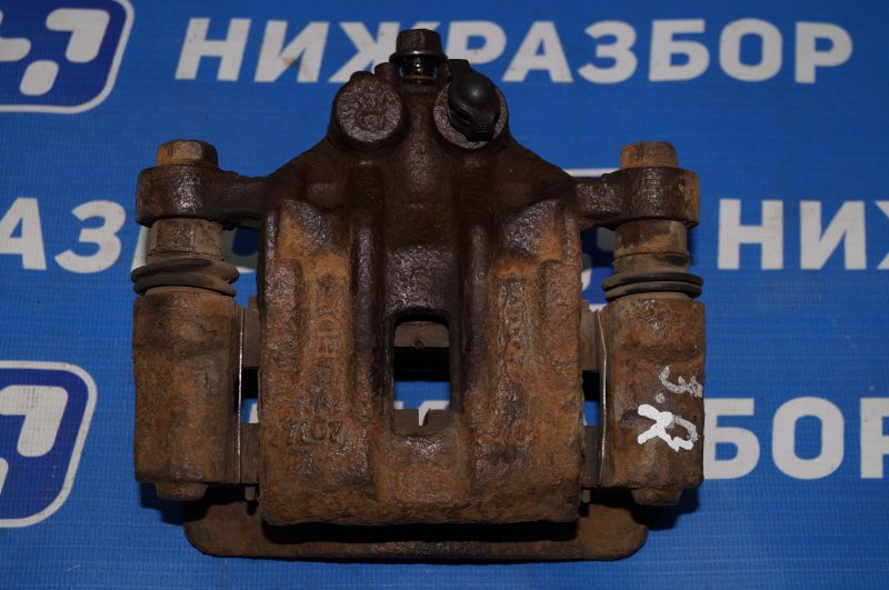 Суппорт Kia Ceed ED 1.6 (G4FC) 2008 задний правый (б/у)