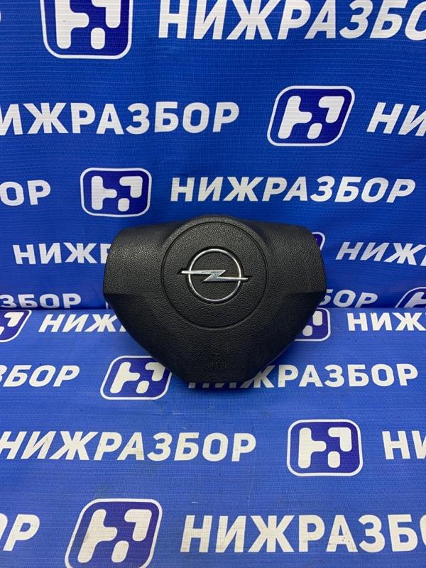 Подушка безопасности в руль Opel Astra H 1.6 (Z16XER) 2004 (б/у)