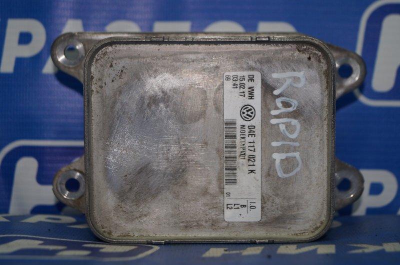 Радиатор масляный Skoda Rapid 1.6 CWV 2017 (б/у)