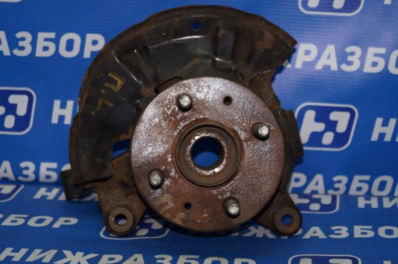 Кулак поворотный Kia Spectra 1.6 (S6D) 180501 2008 передний левый (б/у)
