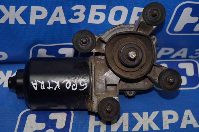 Моторчик стеклоочистителя Kia Spectra 1.6 (S6D) 180501 2008 передний (б/у)