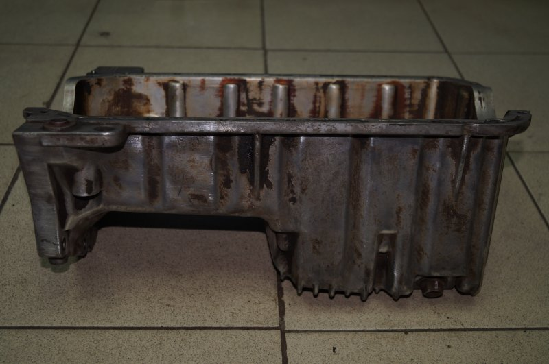 Поддон масляный двигателя Kia Spectra 1.6 (S6D) 180501 2008 (б/у)