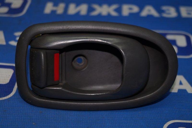 Ручка двери внутренняя Kia Spectra 1.6 (S6D) 180501 2008 задняя правая (б/у)