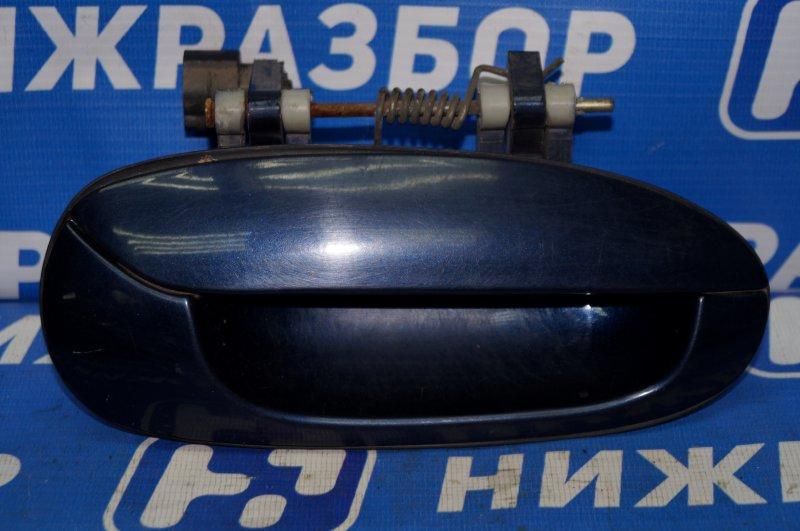 Ручка двери наружная Kia Spectra 1.6 (S6D) 180501 2008 задняя правая (б/у)